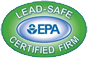 EPA Certified Lead-safe Firm Logo